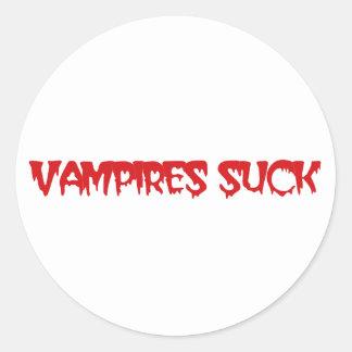 De knappe Vampieren zuigen de Stickers van