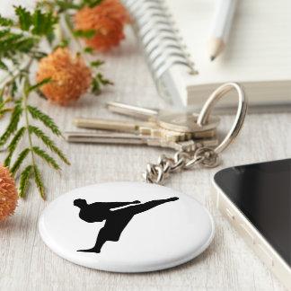 De Knoop Keychain van de karate/van de Schop Sleutelhanger