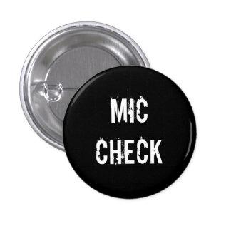 """""""De knoop MIC van de CONTROLE"""" Ronde Button 3,2 Cm"""