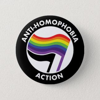 De Knoop van anti-Homophobia Antifa Ronde Button 5,7 Cm