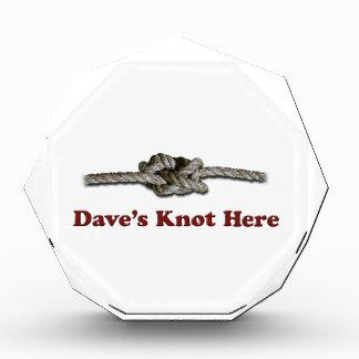 De Knoop van Dave hier PLOTSELING - Prijs