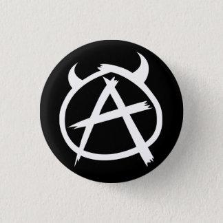 De Knoop van de anarchie Ronde Button 3,2 Cm