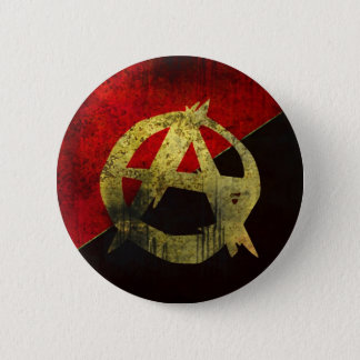 De Knoop van de anarchie Ronde Button 5,7 Cm