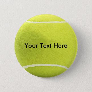 De Knoop van de Bal van het tennis Ronde Button 5,7 Cm