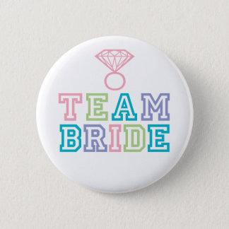 De Knoop van de Bruid van het team Ronde Button 5,7 Cm
