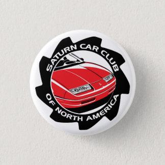 De Knoop van de Club van de Auto van Saturn Ronde Button 3,2 Cm