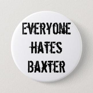 De Knoop van de Club van de Ventilator van Baxter Ronde Button 7,6 Cm