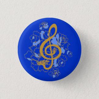De Knoop van de Douane van de Muziek van de Ronde Button 3,2 Cm