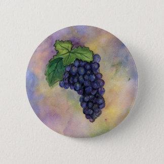 De Knoop van de Druiven van de Wijn van de Pinot Ronde Button 5,7 Cm