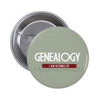 De Knoop van de genealogie Ronde Button 5,7 Cm
