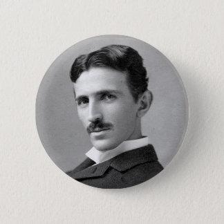 De Knoop van de Hulde van Tesla Ronde Button 5,7 Cm