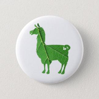 De Knoop van de Lama van het blad Ronde Button 5,7 Cm