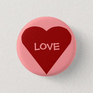 De knoop van de liefde ronde button 3,2 cm