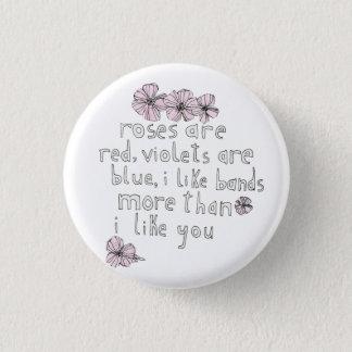 De Knoop van de Liefde van de band Ronde Button 3,2 Cm