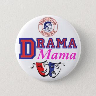 De knoop van de Mamma's van het drama Ronde Button 5,7 Cm