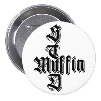 De Knoop van de Muffin van de NAGEL Ronde Button 7,6 Cm