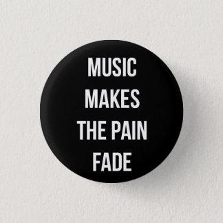 De Knoop van de muziek Ronde Button 3,2 Cm