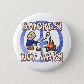 De Knoop van de Oorlogen van S'mores niet Ronde Button 5,7 Cm