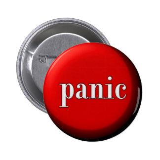 De Knoop van de paniek Ronde Button 5,7 Cm