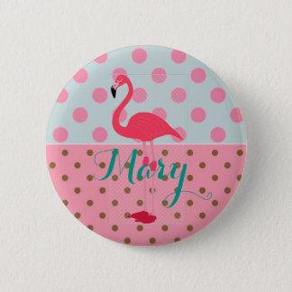 De Knoop van de Partij van de flamingo voor Ronde Button 5,7 Cm