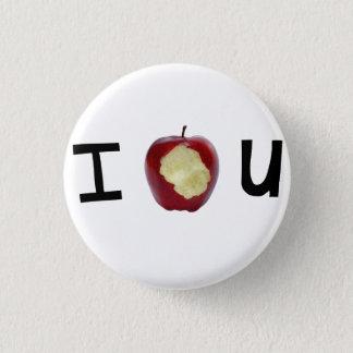De knoop van de schuldbekentenis ronde button 3,2 cm