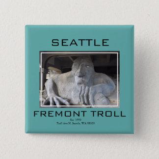 De Knoop van de Sleeplijn van Seattle Fremont Vierkante Button 5,1 Cm