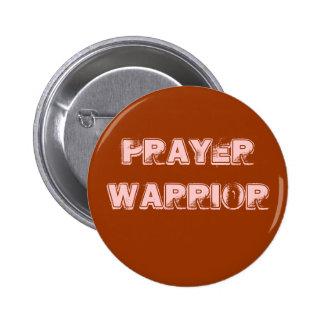 De Knoop van de Strijder van het gebed Ronde Button 5,7 Cm