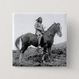 De Knoop van de Strijder van Perce van Nez Vierkante Button 5,1 Cm