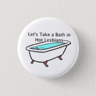 De Knoop van de Tijd van het bad! Ronde Button 3,2 Cm