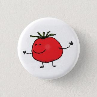De knoop van de tomaat ronde button 3,2 cm