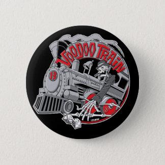 De Knoop van de Trein van het voodoo Ronde Button 5,7 Cm