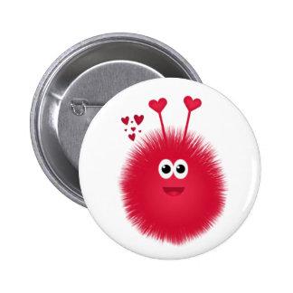 De Knoop van de Valentijnsdag van het Insect van Ronde Button 5,7 Cm