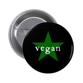 De knoop van de veganist ronde button 5,7 cm