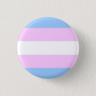 De Knoop van de Vlag van de transsexueel Ronde Button 3,2 Cm