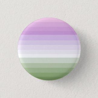 De Knoop van de Vlag van de Trots van Genderqueer Ronde Button 3,2 Cm