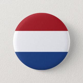 De Knoop van de Vlag van Nederland Ronde Button 5,7 Cm