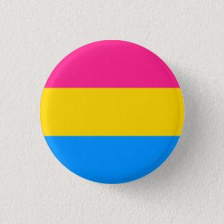 De Knoop van de Vlag van Pansexual Ronde Button 3,2 Cm