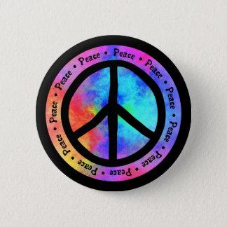 De Knoop van de vrede Ronde Button 5,7 Cm