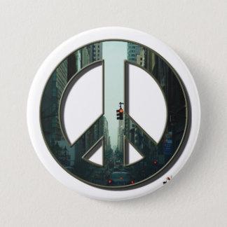 De Knoop van de Vrede van de Weg van Madison Ronde Button 7,6 Cm