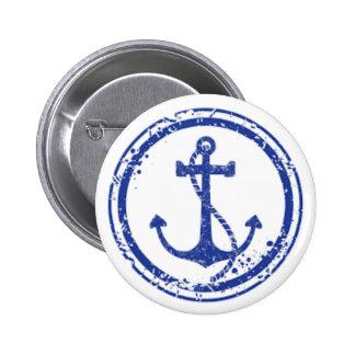 De Knoop van de zeeman Ronde Button 5,7 Cm