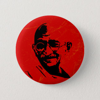 De Knoop van Gandhi Ronde Button 5,7 Cm