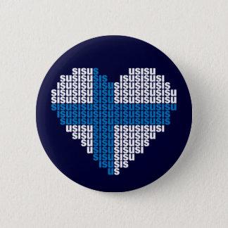 De Knoop van het Hart van Sisu Ronde Button 5,7 Cm