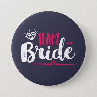 De Knoop van het Huwelijk van de Partij van de Ronde Button 7,6 Cm
