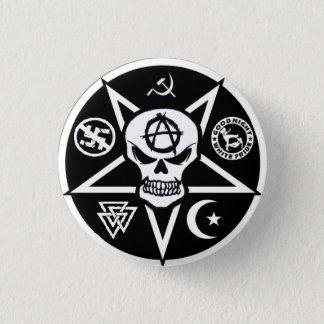 De Knoop van het Logo van Anarchotik Ronde Button 3,2 Cm