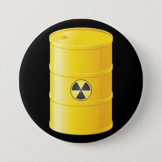 De Knoop van het radioactieve Afval Ronde Button 7,6 Cm