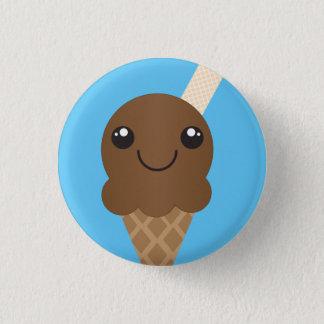 De Knoop van het Roomijs van de chocolade Ronde Button 3,2 Cm