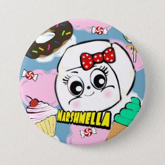De Knoop van Marshmella Ronde Button 7,6 Cm