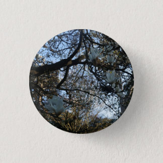 De Knoop van Pinback van de Magnolia van Yulan Ronde Button 3,2 Cm
