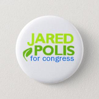 De Knoop van Polis van Jared Ronde Button 5,7 Cm