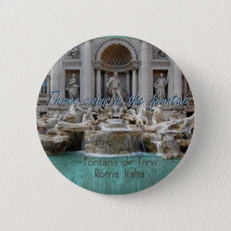 De Knoop van ROME Italië Ronde Button 5,7 Cm